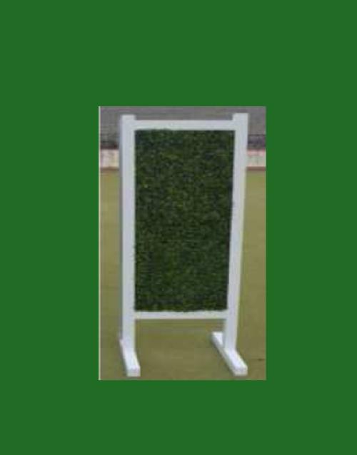 HINDERNISMATERIAAL-Aluminium-hindernis-vleugel-grass