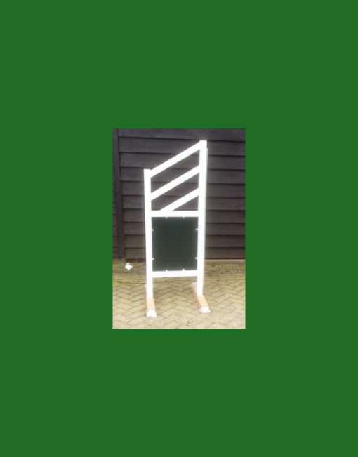 HINDERNISMATERIAAL-Aluminium-hindernis-vleugel-green