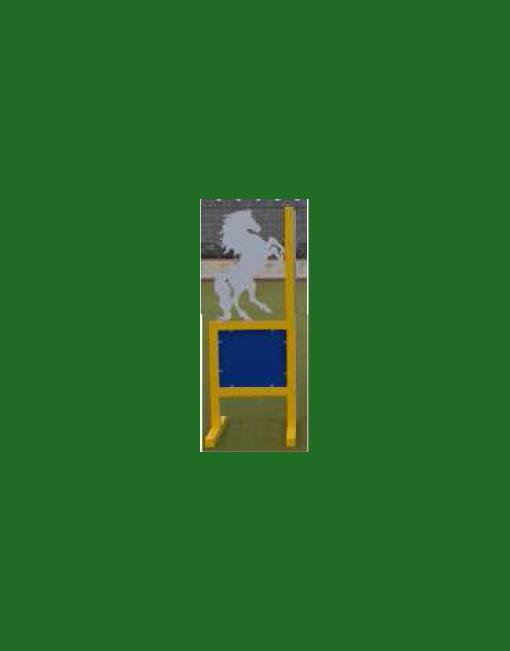 HINDERNISMATERIAAL-Aluminium-hindernis-vleugel-raising-horse