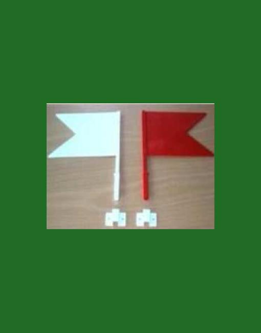 HINDERNISMATERIAAL-vlaggen-set